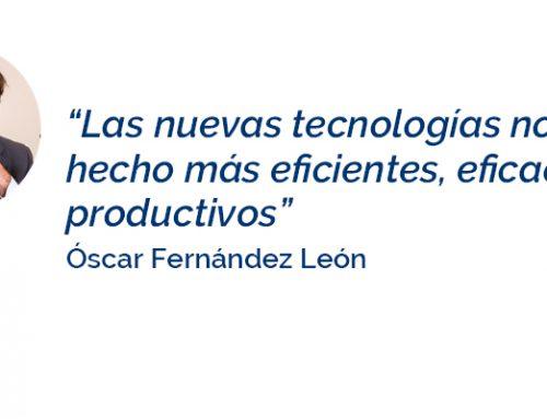 """Óscar Fernández León: """"La marca personal da notoriedad y exposición para conseguir posicionarte como profesional de referencia"""""""